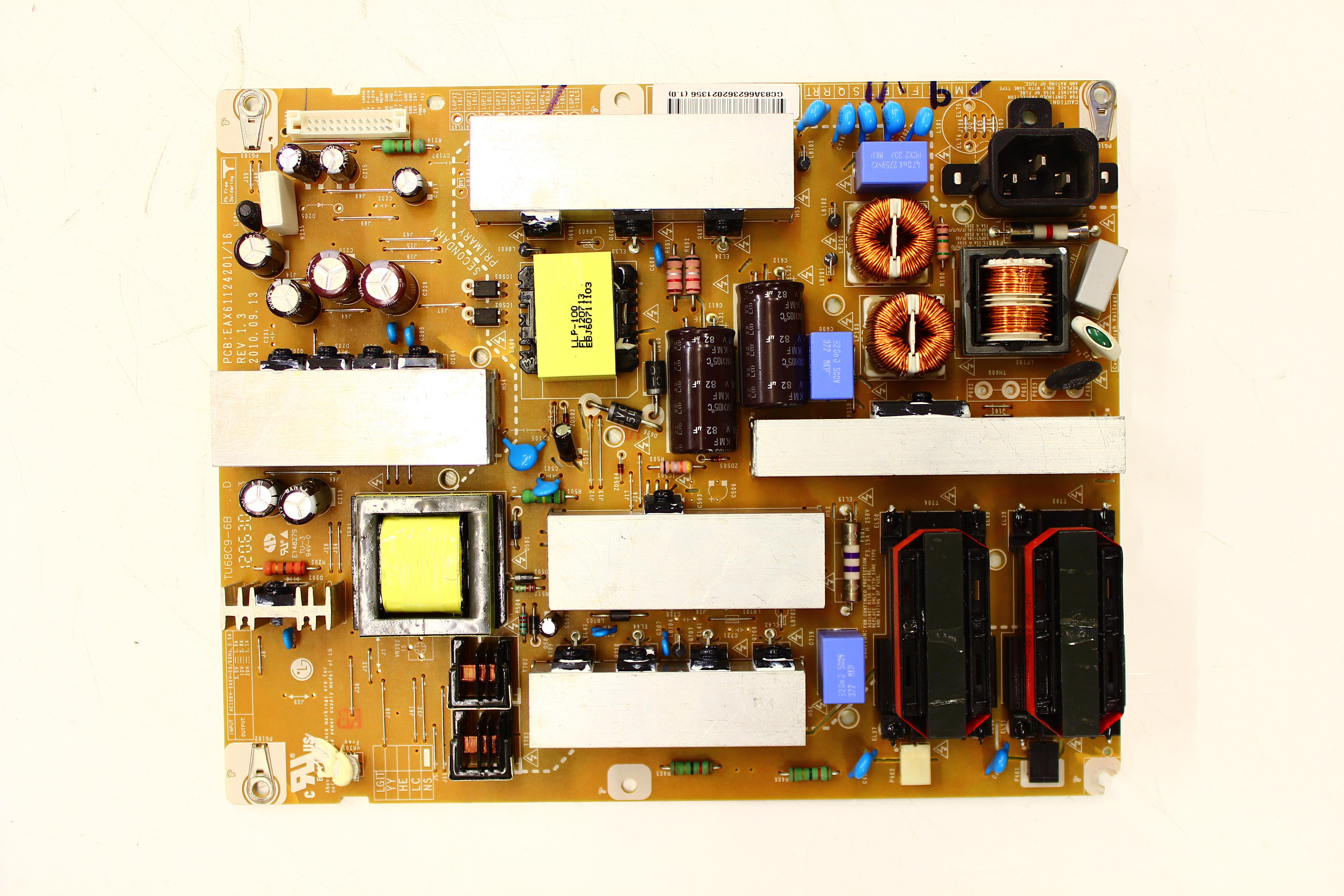 LG 37CS560-UE Power Supply / Backlight Inverter EAY66236202