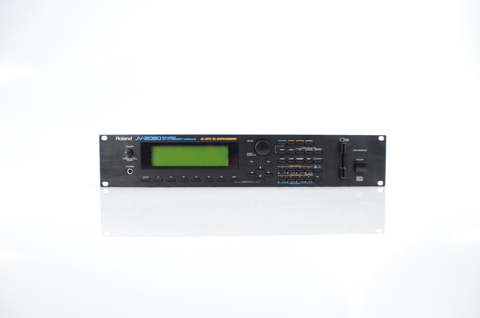 Roland JV-2080 64 Voice Synthesizer Synth Sound Module Owned by Lyle Mays #32872