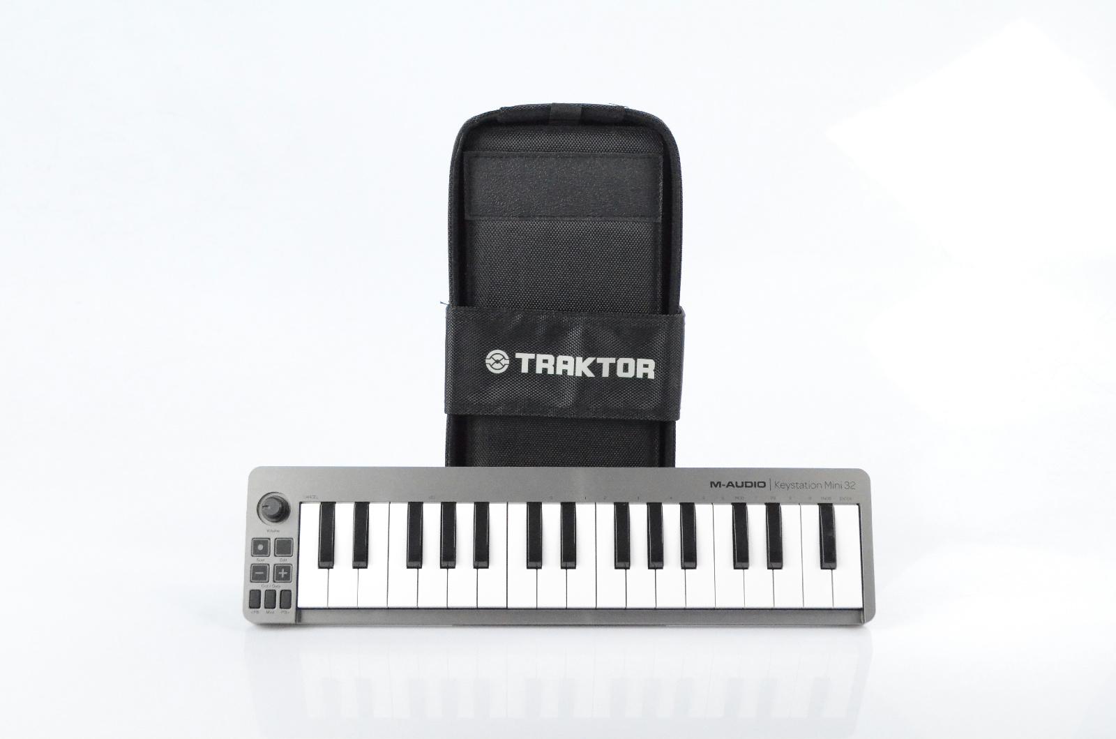 M-Audio Keystation Mini 32 & Native Instruments Traktor Kontrol X1 Bag #32917