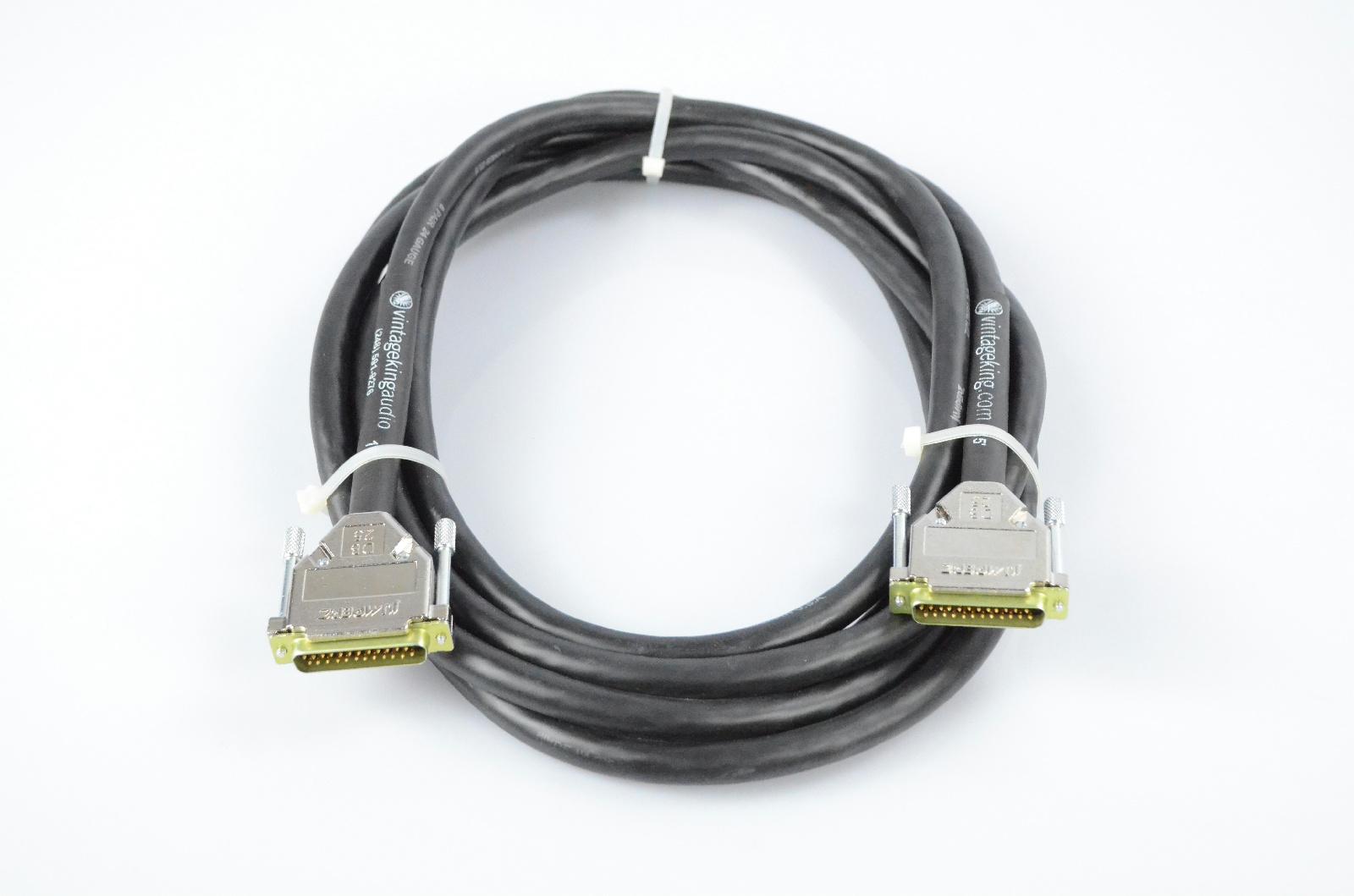 Vintage King 15' DB25-DB25 Jumperz Ziplines ZL8 8 Channel Snake Cable #32771