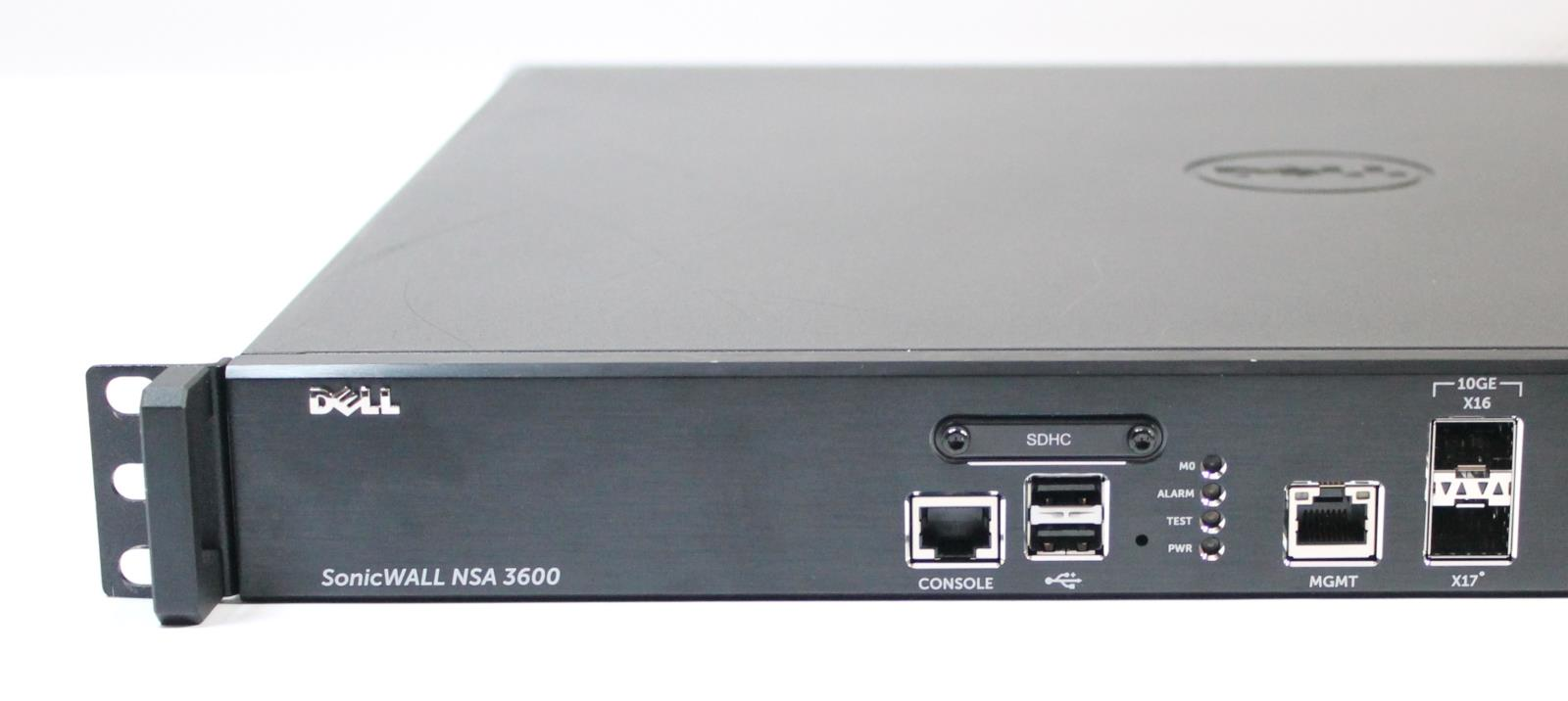 Dell Sonicwall Nsa 3600 Network Security Appliance