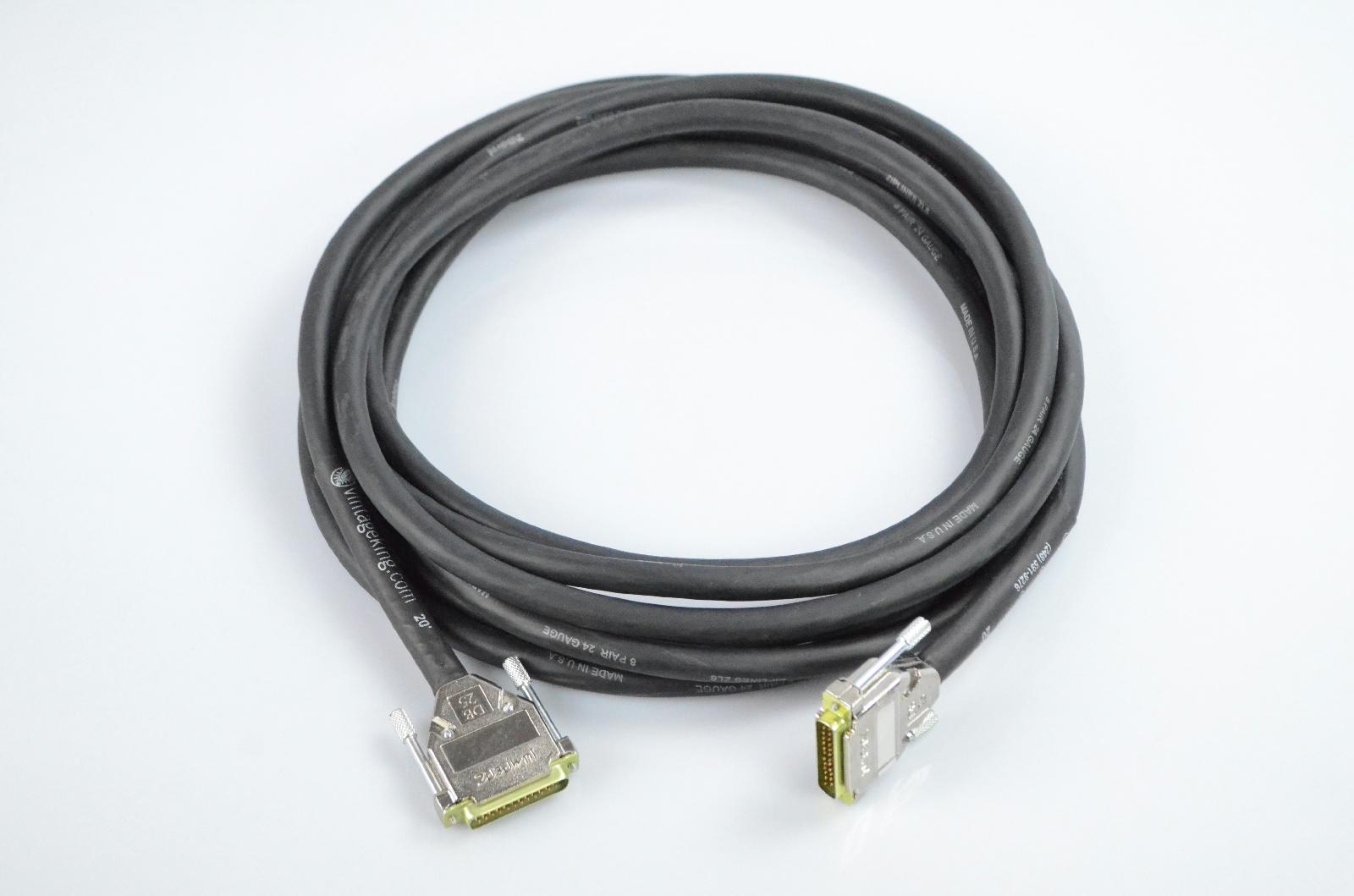 Vintage King 20' Jumperz Ziplines ZL8 DB25-DB25 8 Channel Snake Cable #32935