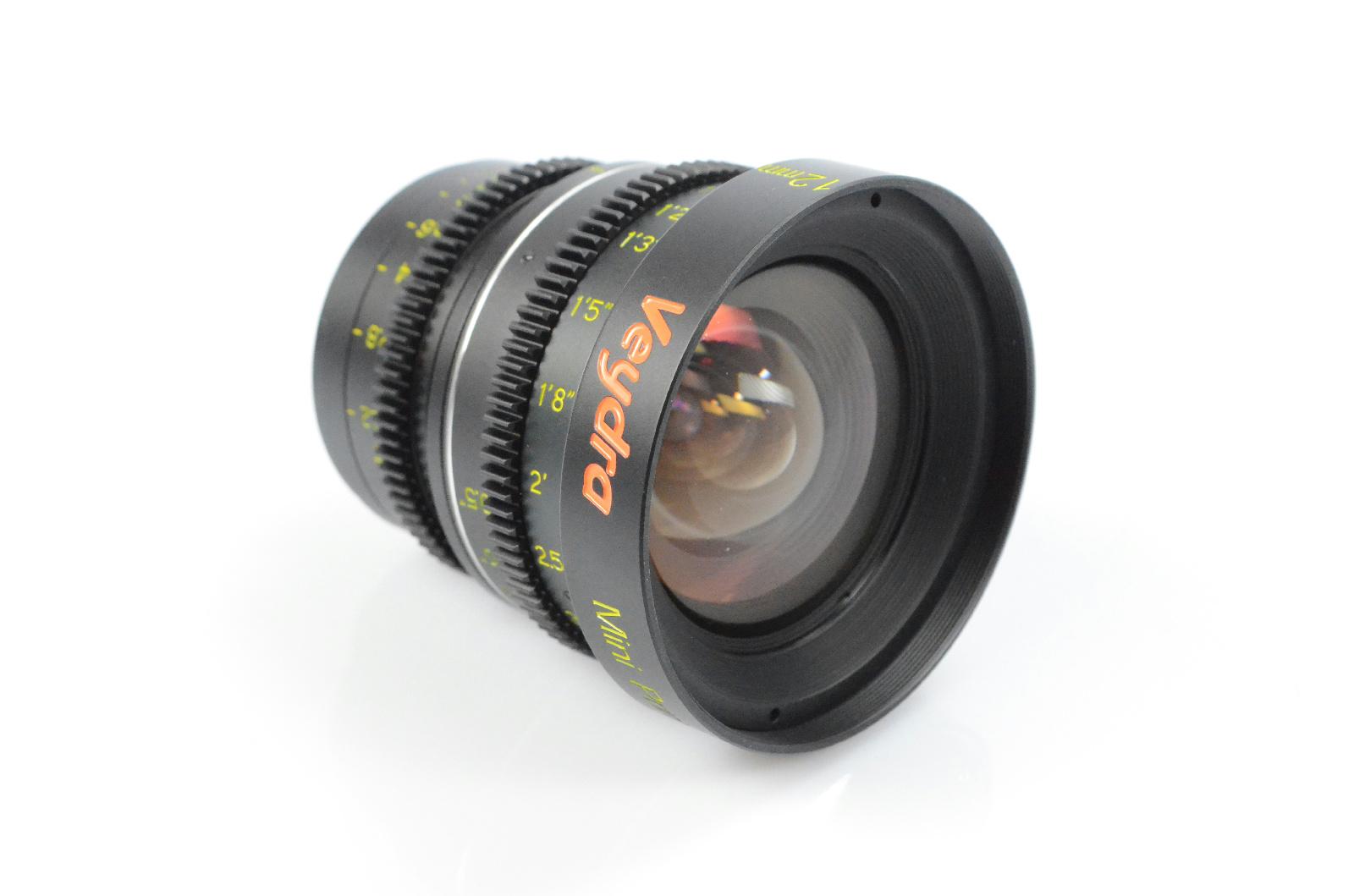 Veydra Mini Prime 12mm T2.2 C-Mount Lens Vey-V1-12T22CMOUNTI #33033