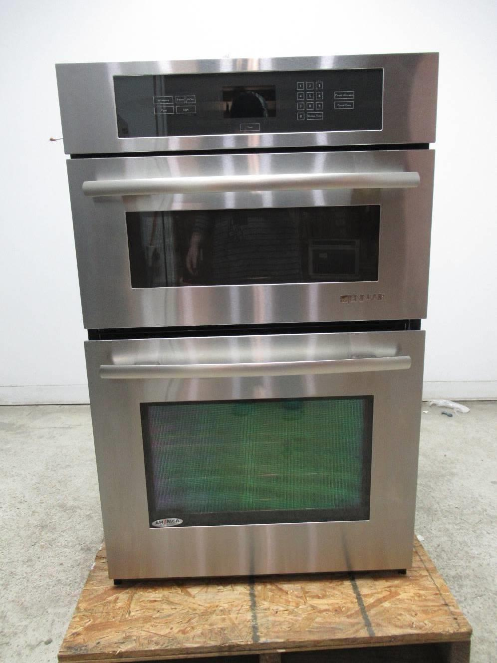 Jenn Air 27 Stainless Combination Microwave Wall Oven W Convection Jmw2427ws