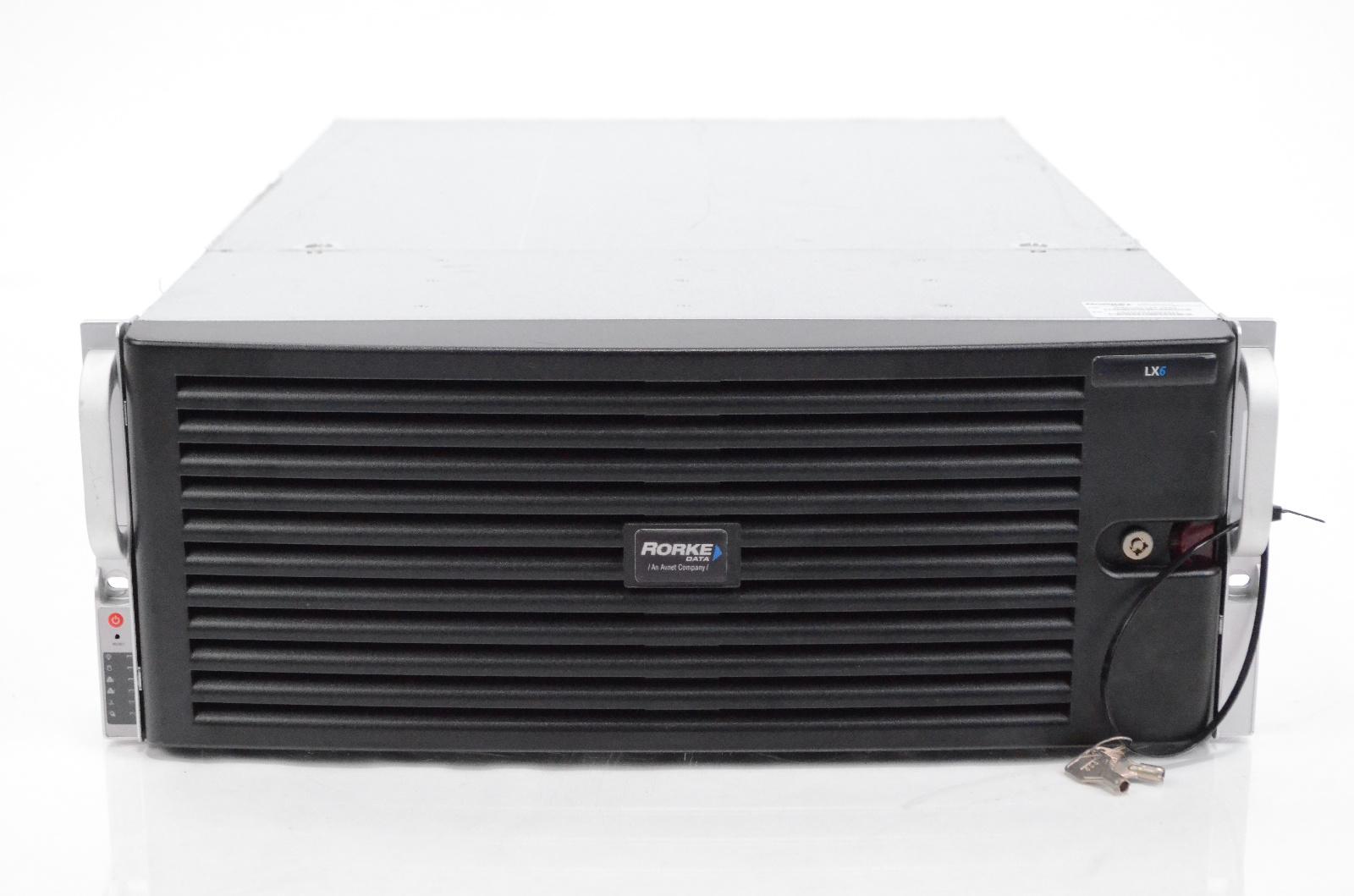 Rorke Data GN4U/24-L6A-36NE 36 TB Hard Drive Galaxy LX6 NAS Raid System #32390