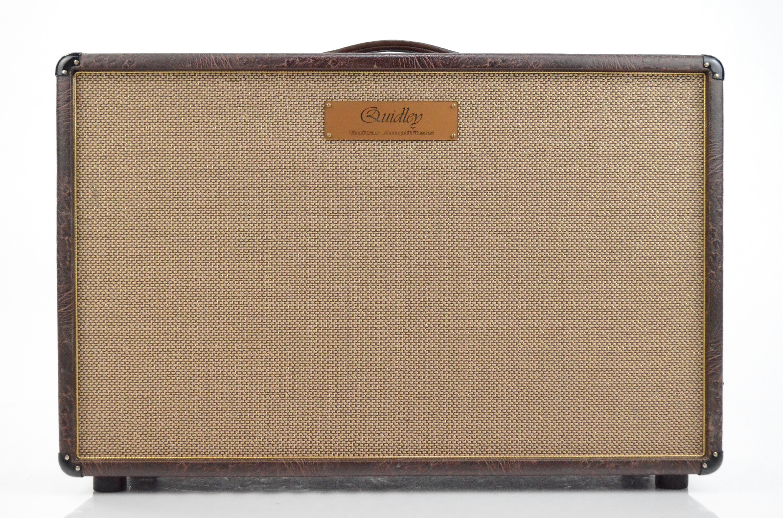 """Quidley 2x12"""" 8 Ohm Mojotone Guitar Speaker Cabinet Owned by George Lynch #32996"""