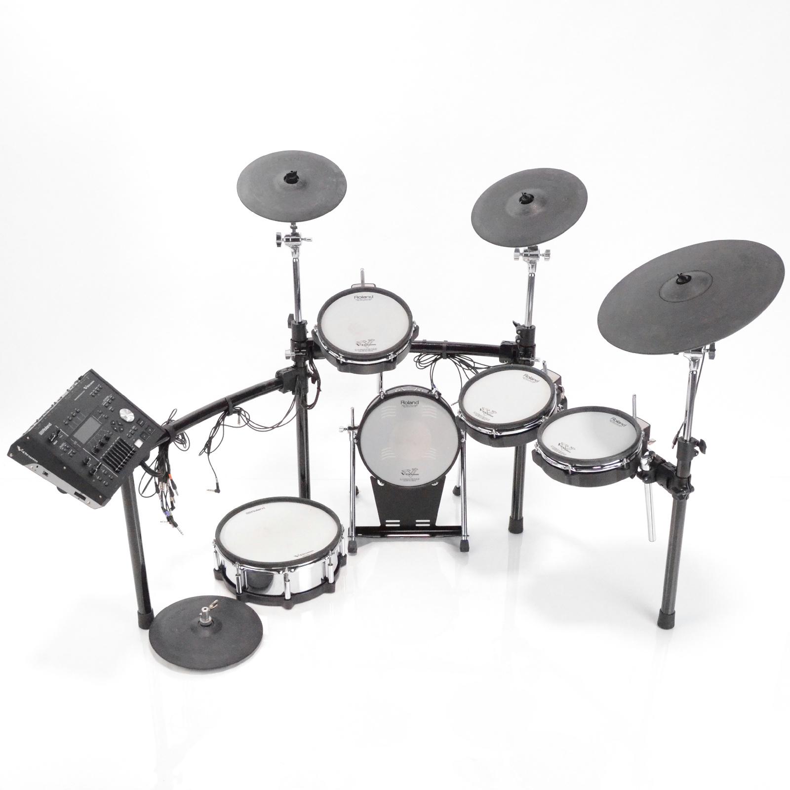 Roland TD-50 V-Drums Complete 5 Pc Electronic Drum Kit TD-50KV #32985