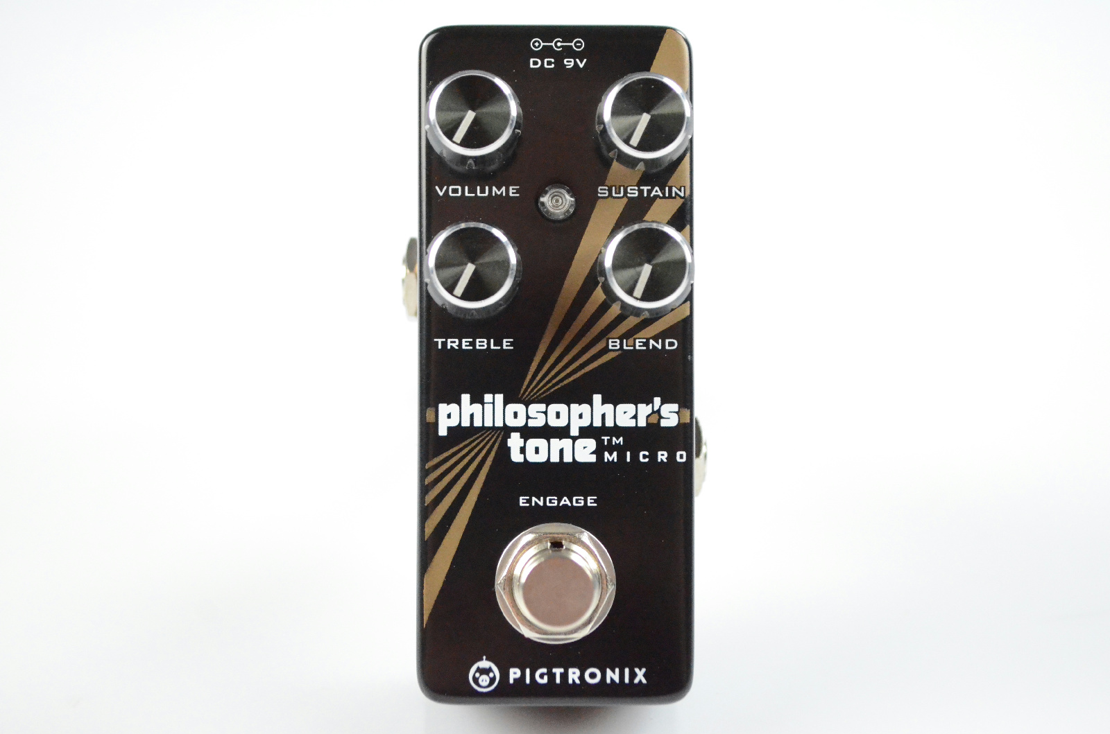 Pigtronix Philosopher's Tone Micro Compressor Guitar Effect Pedal #33100