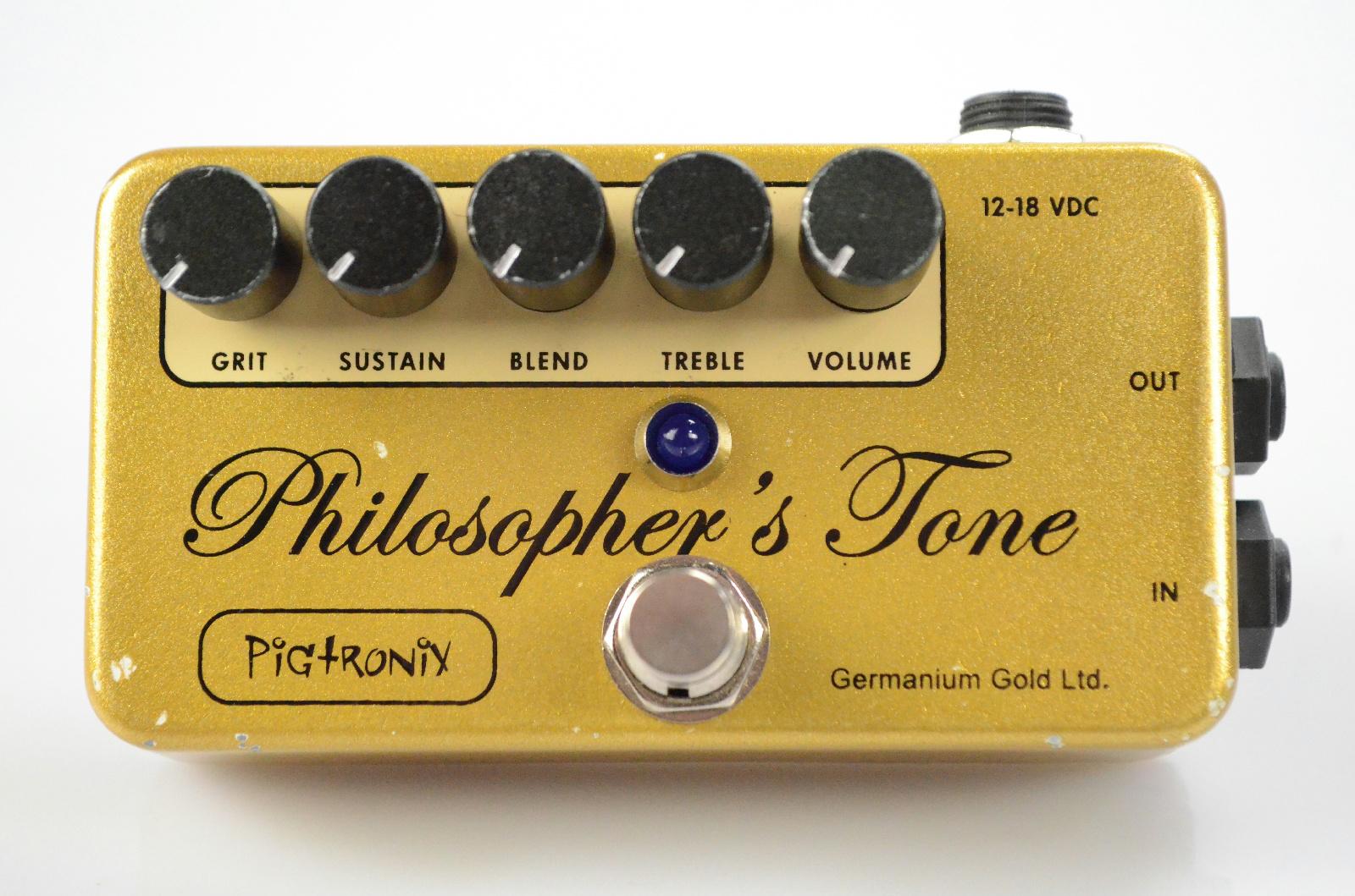 Pigtronix Philosopher's Tone Germanium Gold Ltd. Limited Edition Myrold #33097