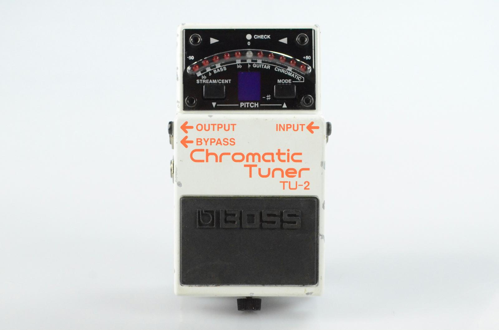 Boss TU-2 TU2 Chromatic Guitar Tuner Pedal Owned & Signed by Paul Gilbert #33093