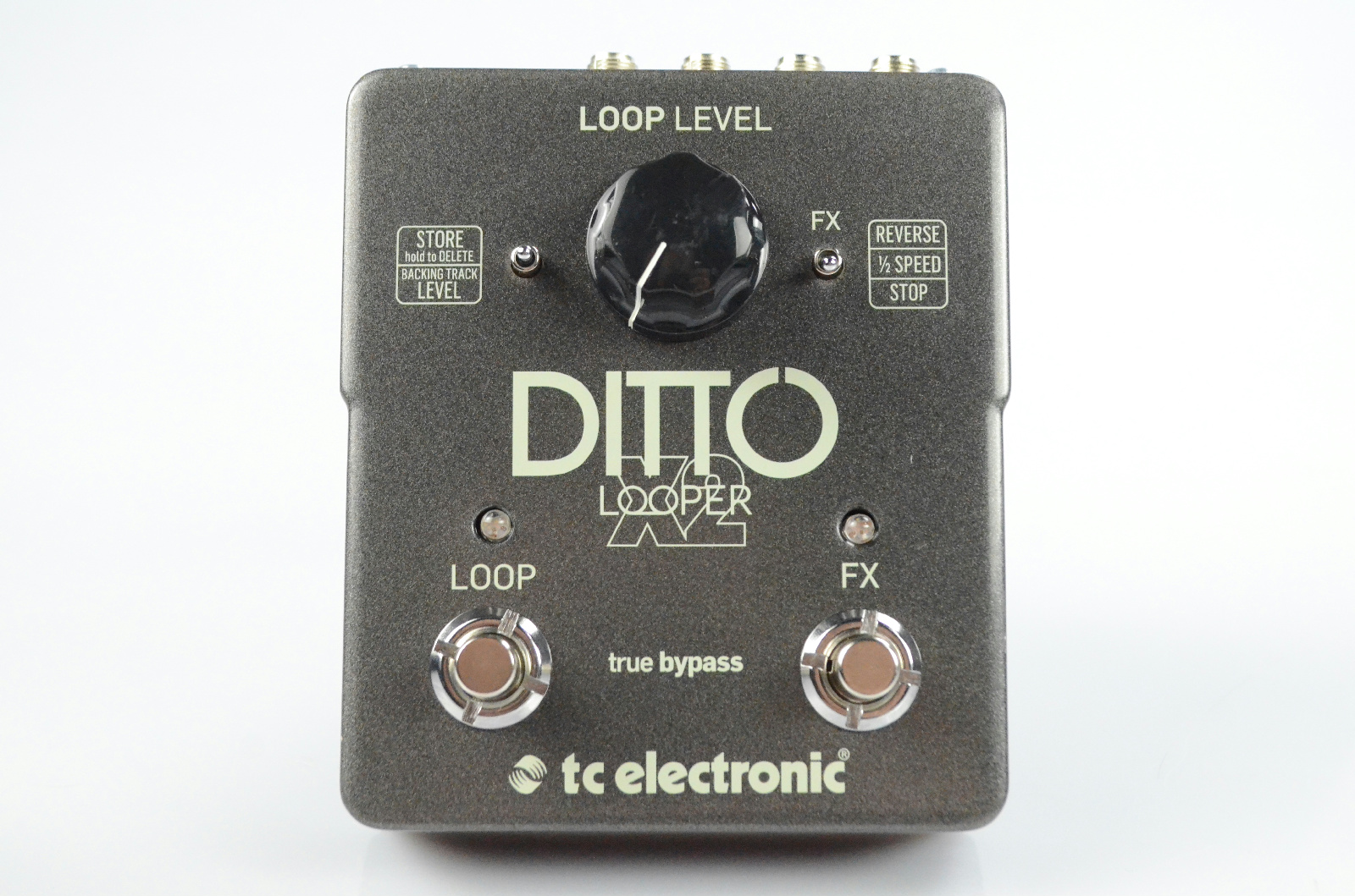 TC Electronic Ditto X2 Stereo Looper Guitar Effect Pedal #33111