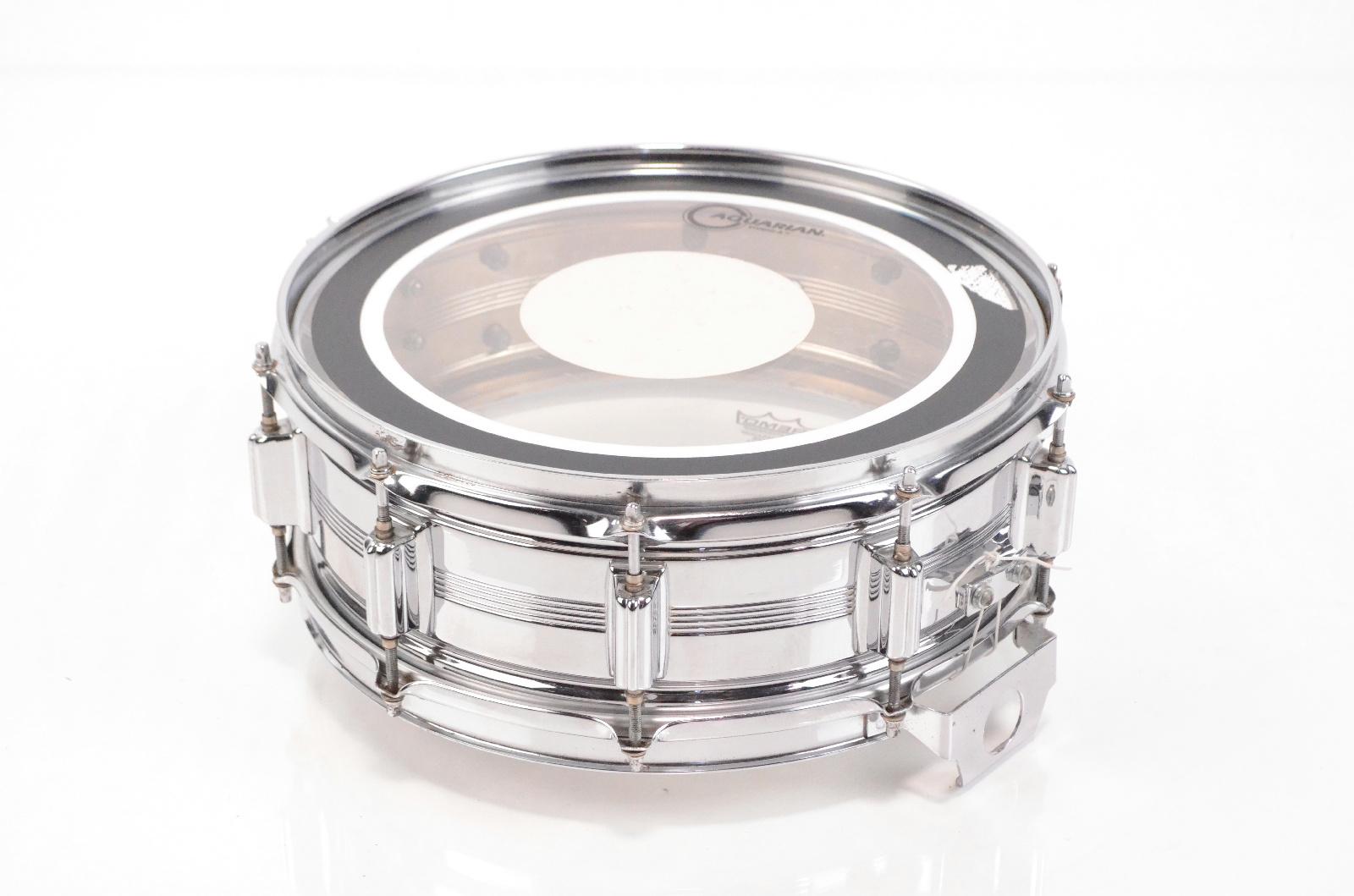 "Rogers DynaSonic 14' x 5"" Snare Drum ""Big R"" Badge Ray Luzier Korn #33001"