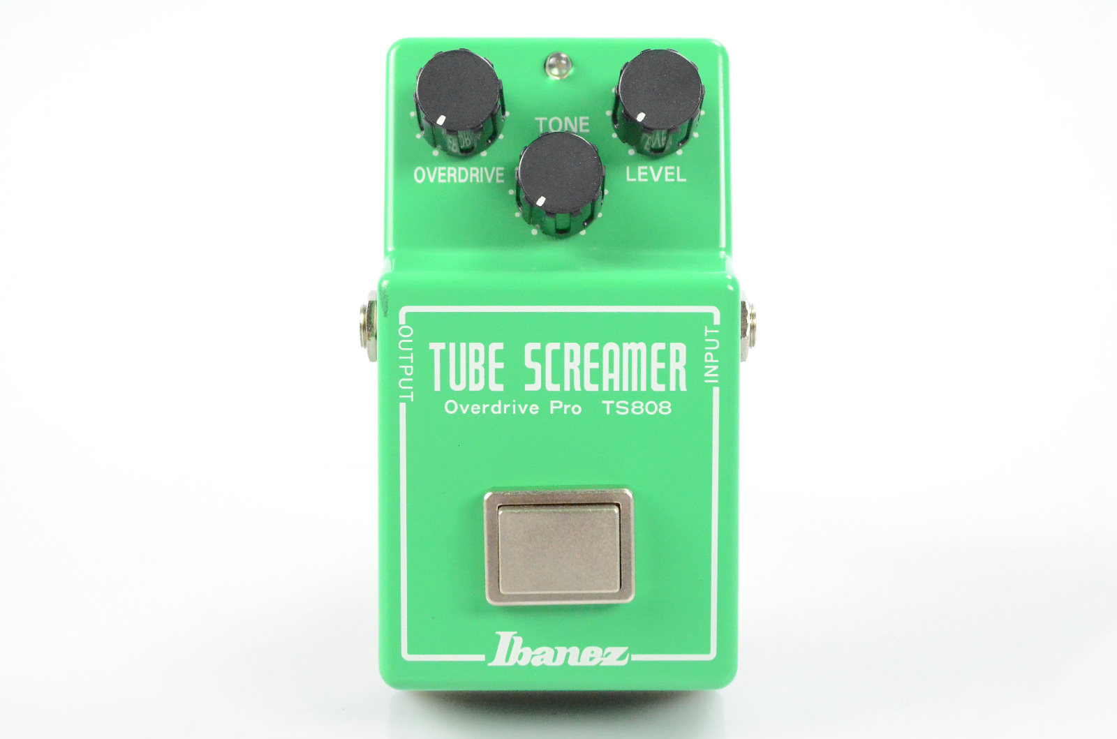 Ibanez TS808 Tube Screamer Overdrive Pro Guitar Pedal Owned by Papa Roach #33248