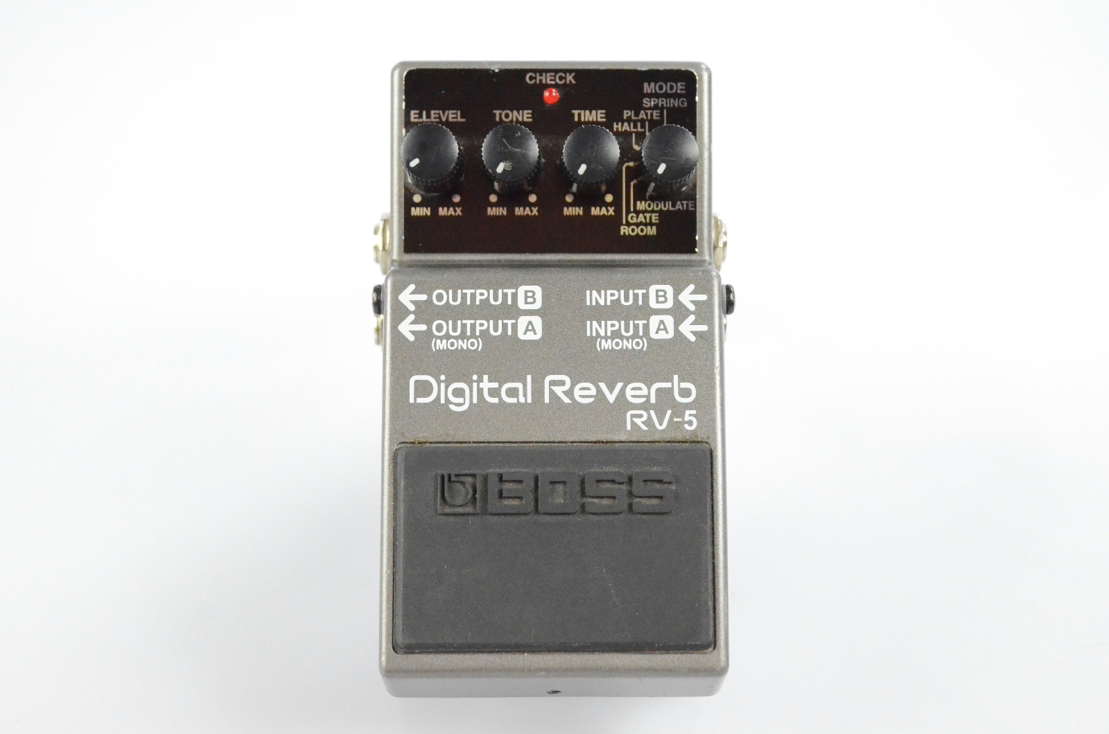 Boss RV-5 RV5 Stereo Digital Reverb Effect Pedal Owned By Papa Roach #33358