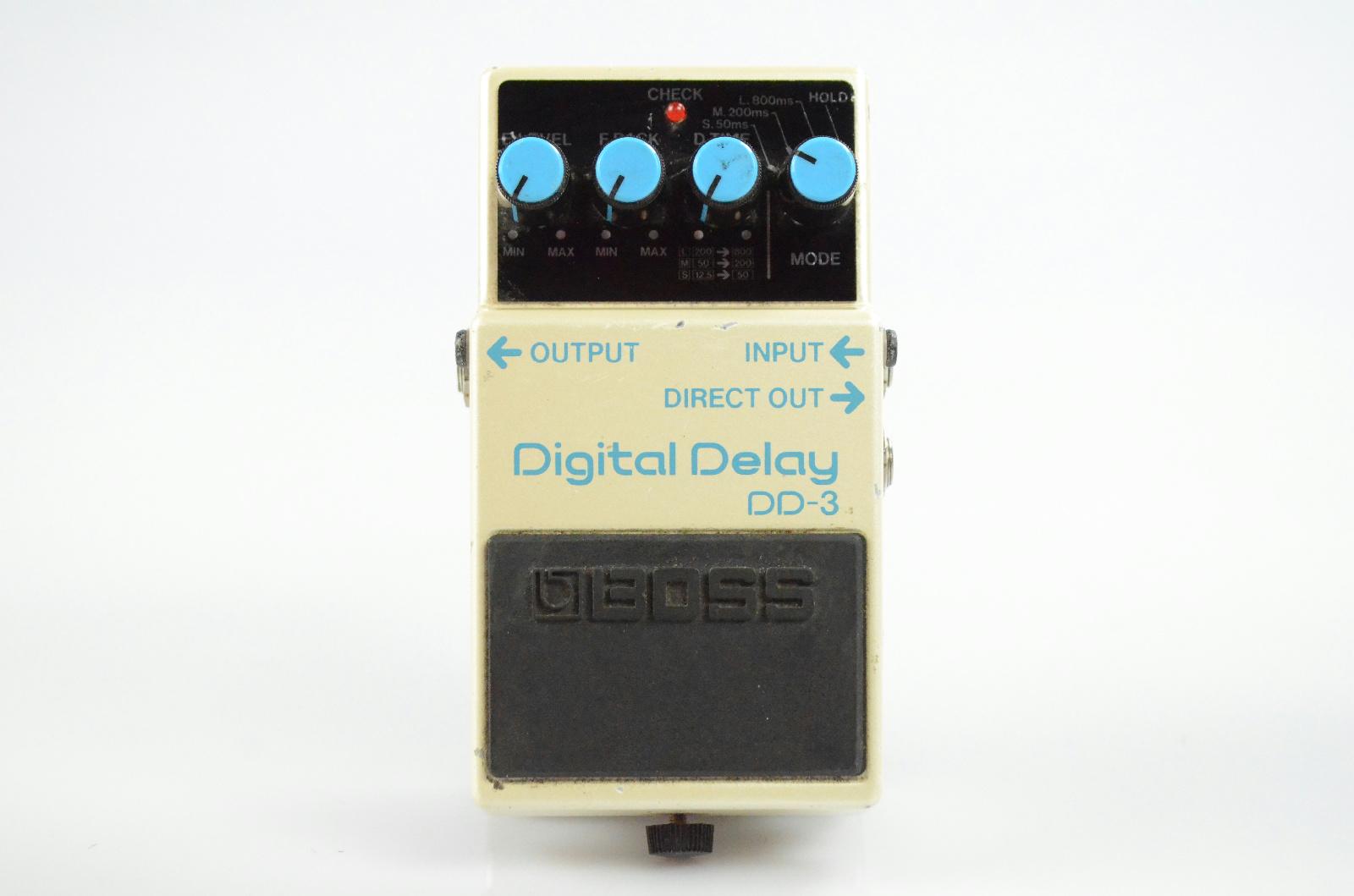 Boss DD-3 DD3 Digital Delay Echo Effect Pedal Owned by Papa Roach #33365