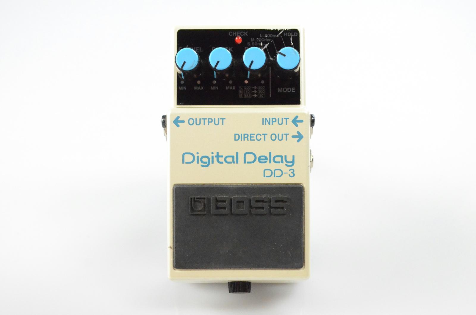 Boss DD-3 DD3 Digital Delay Echo Effect Pedal Owned by Papa Roach #33366