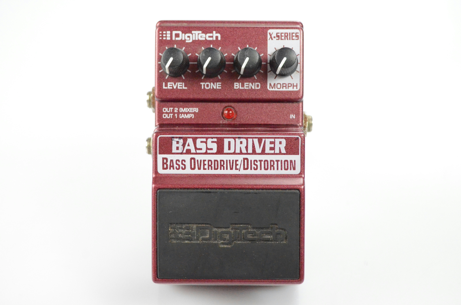 Digitech Bass Driver Overdrive OD Distortion Pedal Owned By Papa Roach #33372