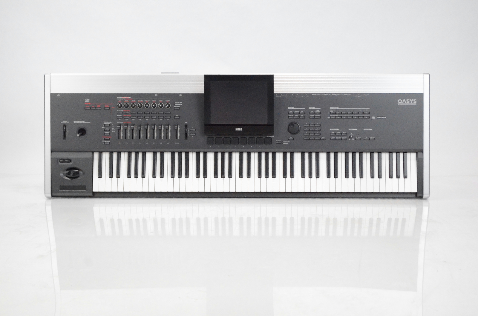 Korg Oasys 88 Key Keyboard Piano Workstation 1GB EXs1 Owned by Maroon 5 #33427