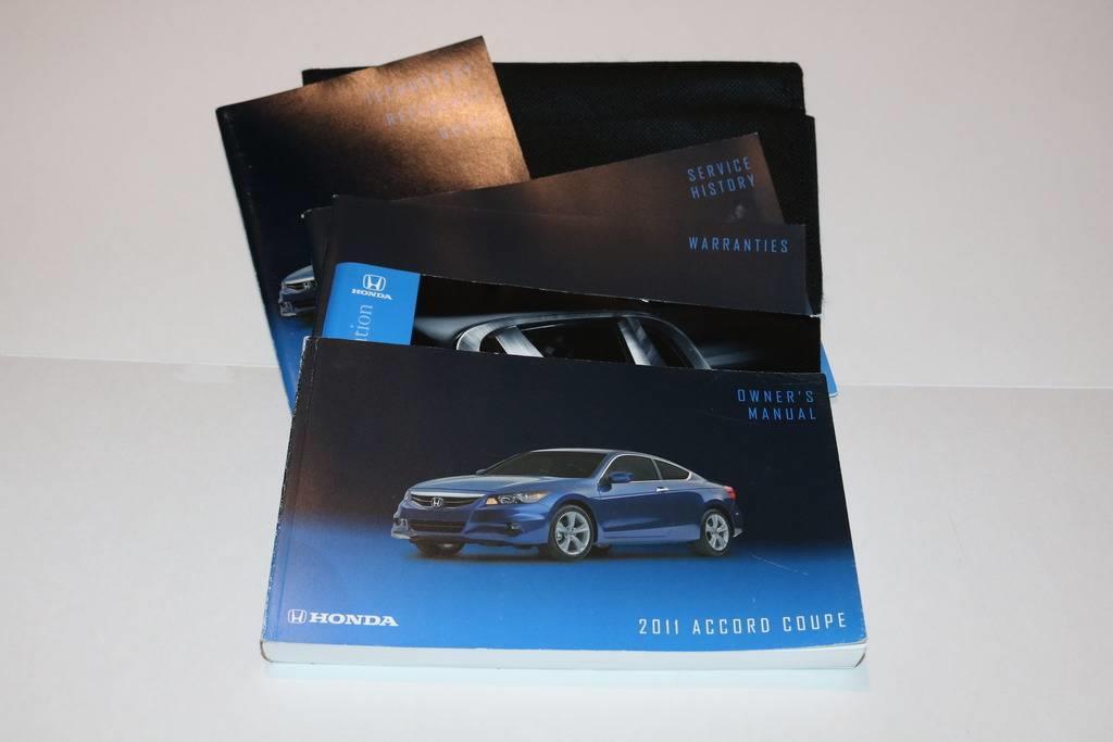 2001 honda accord owners manual