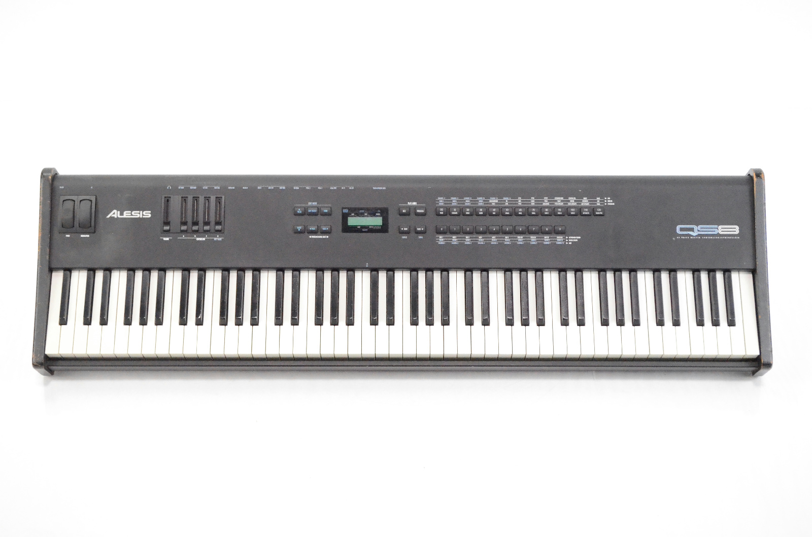 Alesis QS8 88 Key Weighted Piano Controller Synthesizer Owned by Maroon 5 #33467