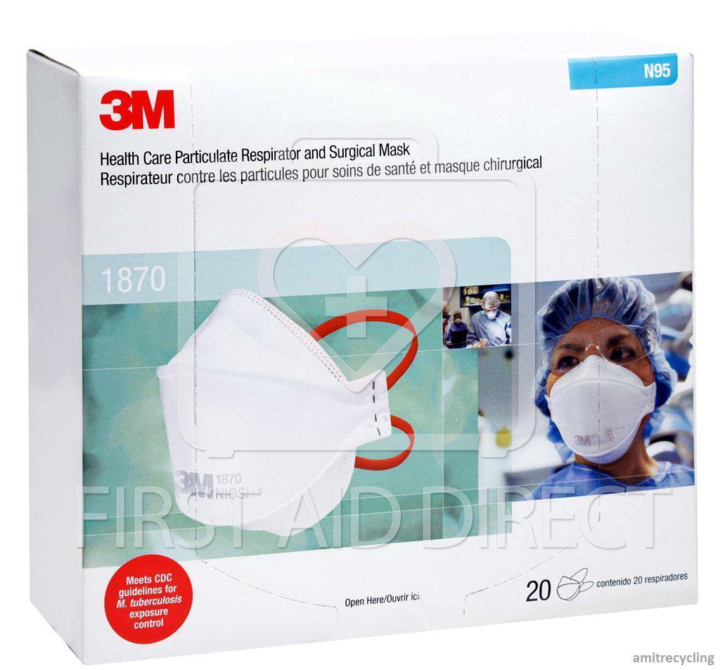 3m 1870 medical mask n95