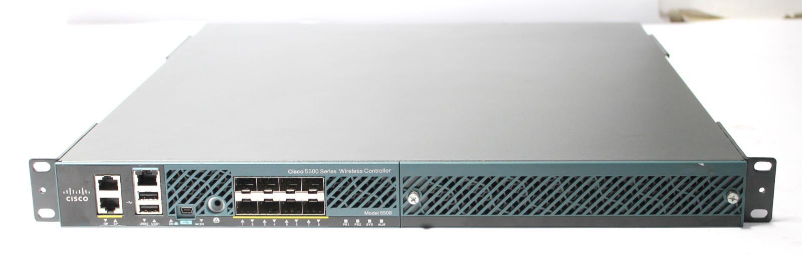 Cisco AIR-CT5508-K9 5500 Series Wireless LAN Controller 112 AP Version 8 3
