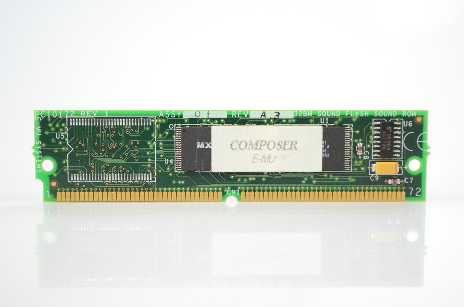E-MU Composer 32MB Sound Flash ROM Expansion Card #33282