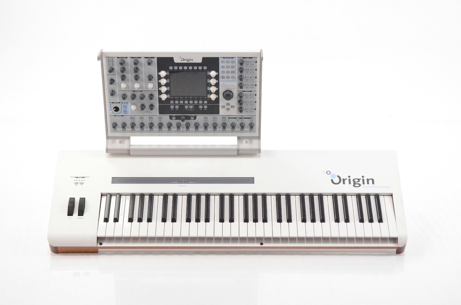 Arturia Origin Synthesizer Synth Sound Module w/ Keyboard & Power Supply #32970