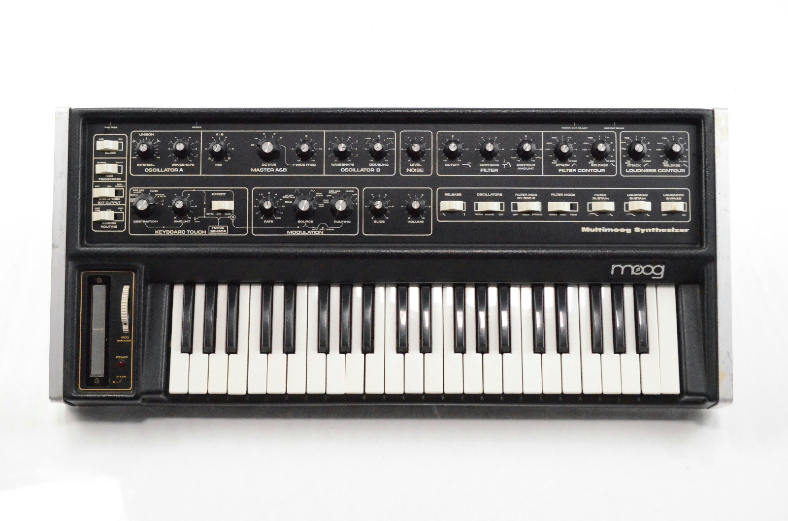 Moog Multimoog Monophonic Analog Synthesizer Synth w/ Original Hard Case #33140