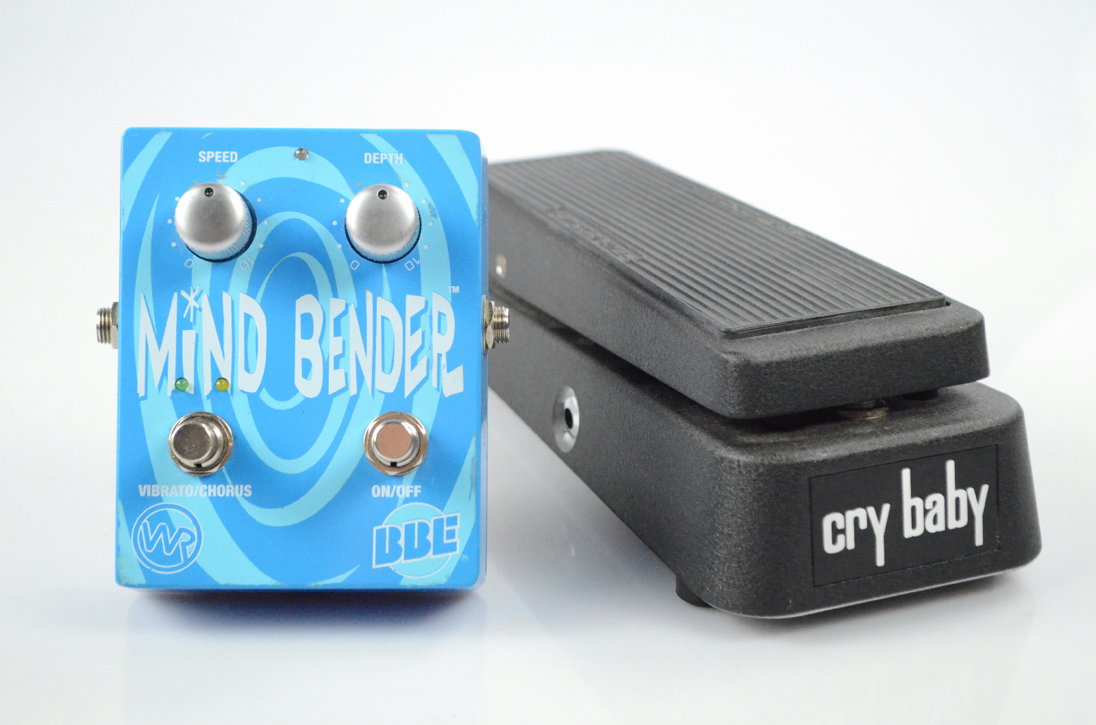 Dunlop Cry Baby GCB95 Wah & BBE Mind Bender Pedal Owned by Kato Khandwala #33607