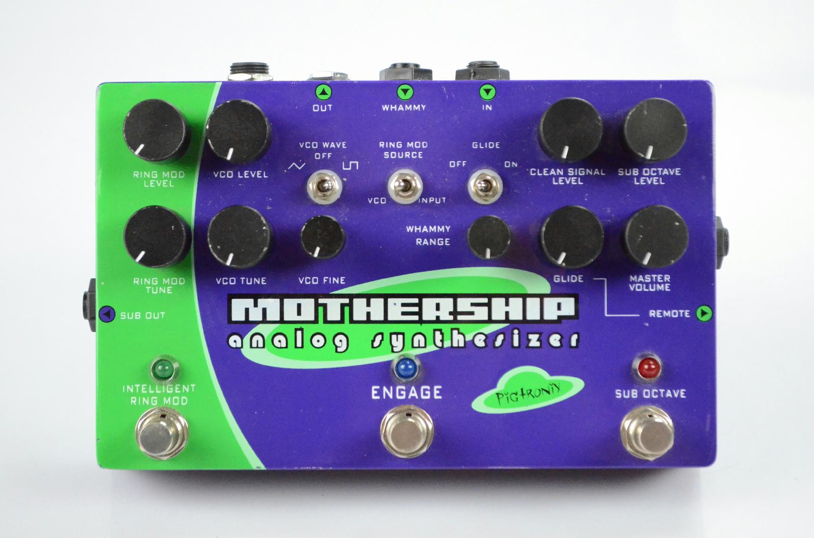 Pigtronix Mothership Analog Synthesizer Pedal Owned by Kato Khandwala #33585