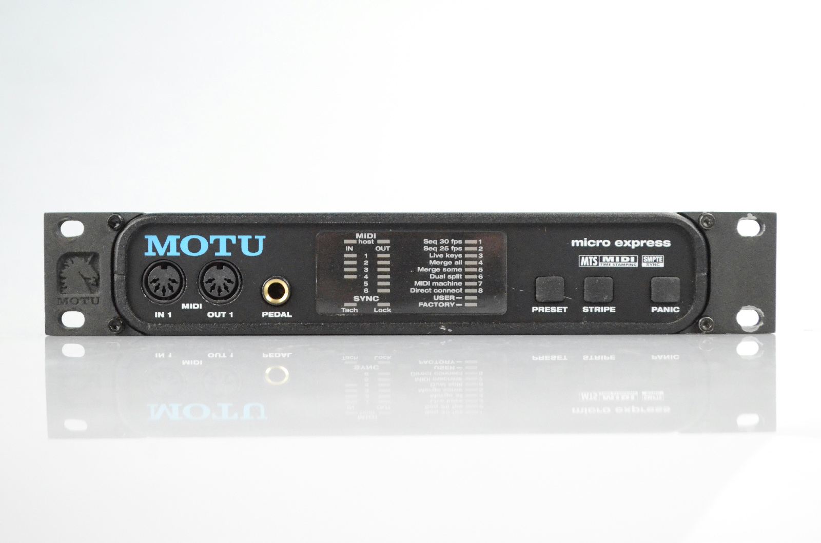 MOTU Micro Express 4x6 USB MIDI SMPTE Interface Owned by Kato Khandwala #33737