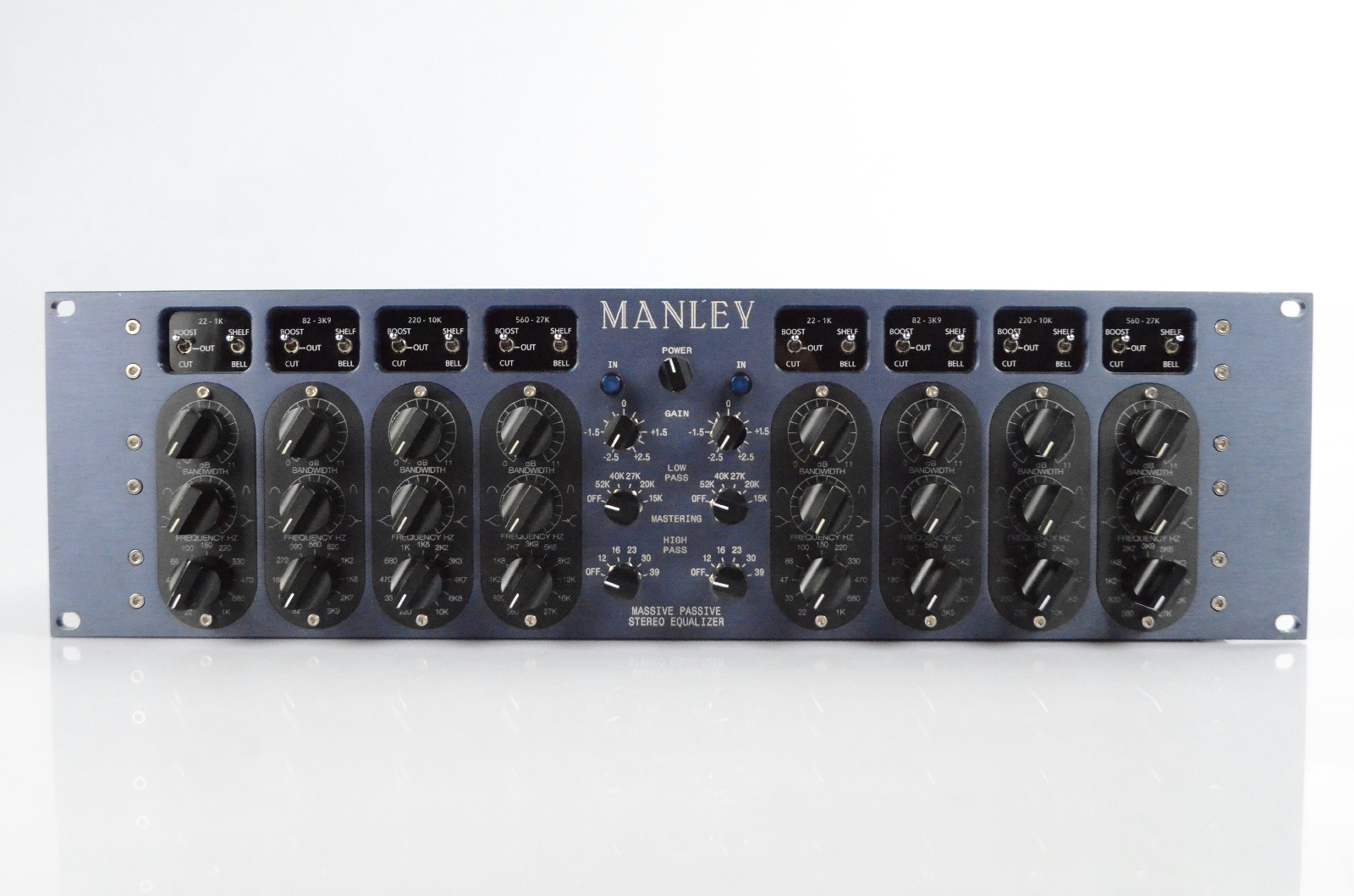 Manley Mastering Massive Passive Stereo Dual Channel Equalizer EQ #33762