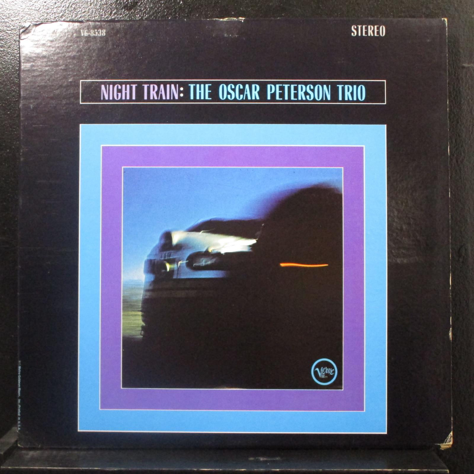 The Oscar Peterson Trio Night Train Lp Vg V6 8538 Verve