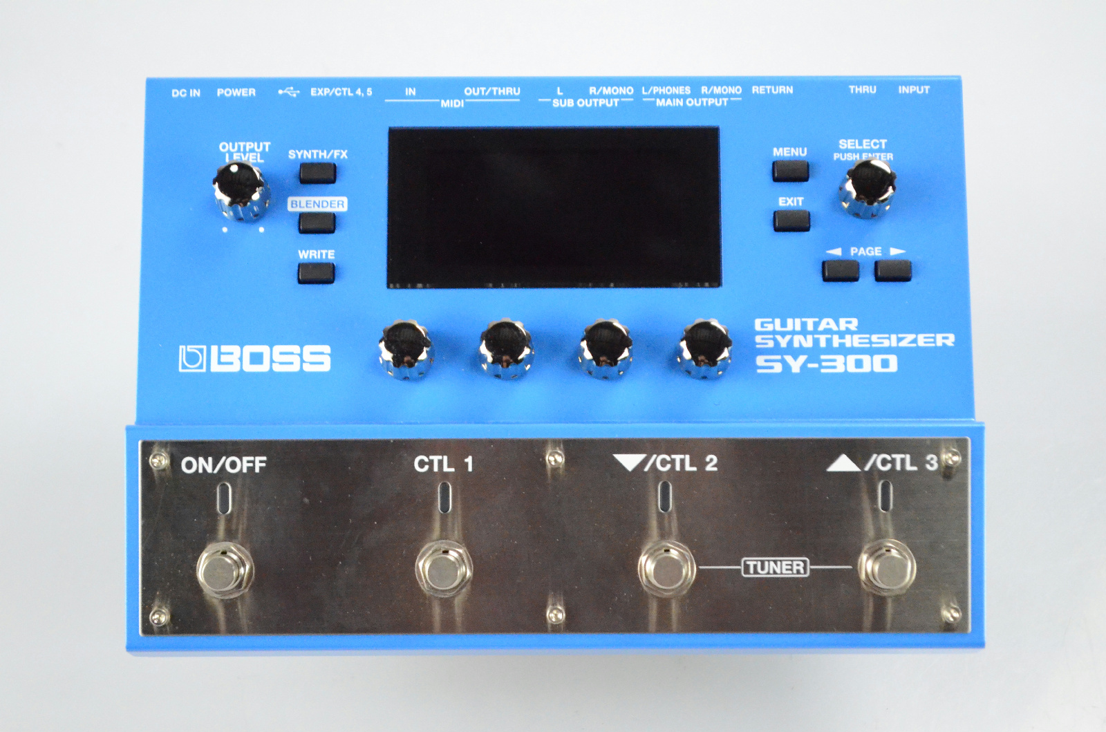 Boss SY-300 Guitar Synthesizer Synth w/ Cables Owned by Kato Khandwala #33617