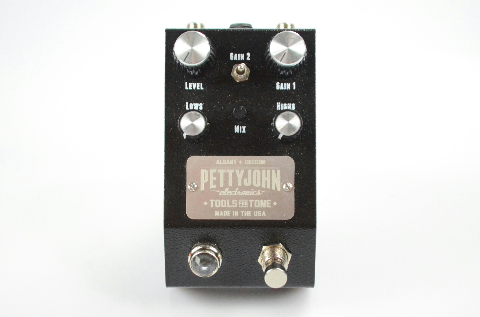 Petty John Electronics Fuze Distortion Fuzz Pedal Owned by Kato Khandwala #33620