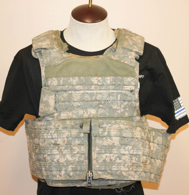 Details about MSA Paraclete RMV Plate Carrier Body Armor Vest ACU Digital Camo Medium 3