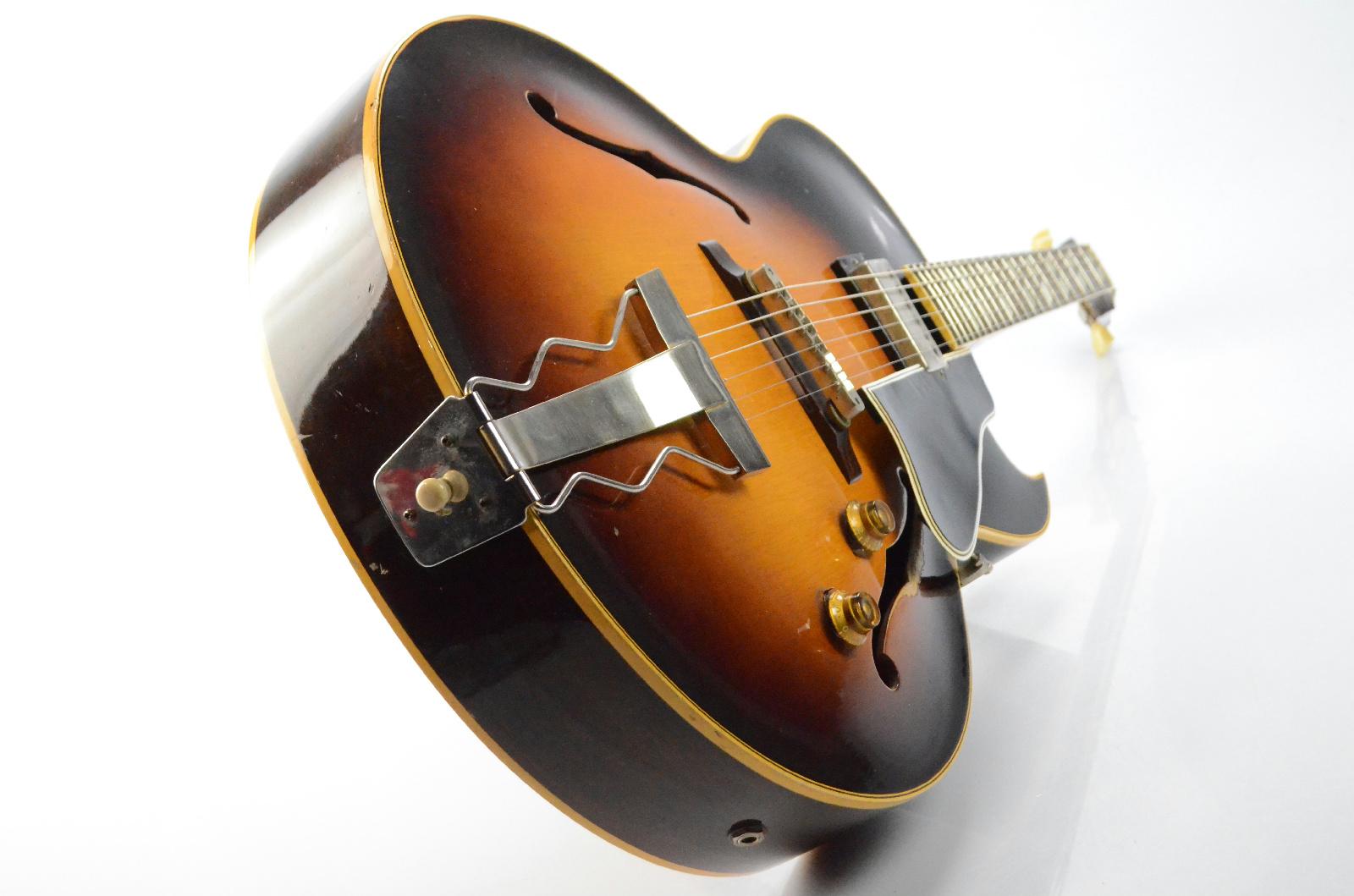 1958 Gibson ES-175 Sunburst Electric Guitar w/ Original Case PAF Pickup  #33609