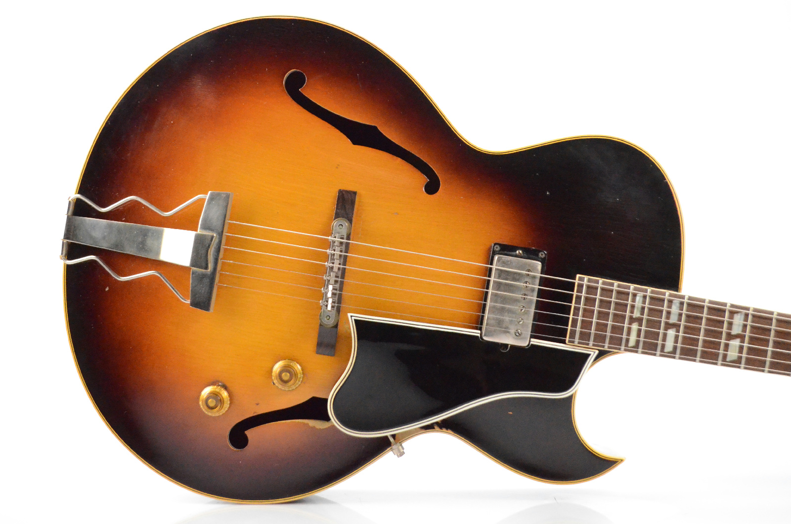 1958 Gibson ES-175 Sunburst Electric Guitar w/ Original Case PAF Pickup #33609