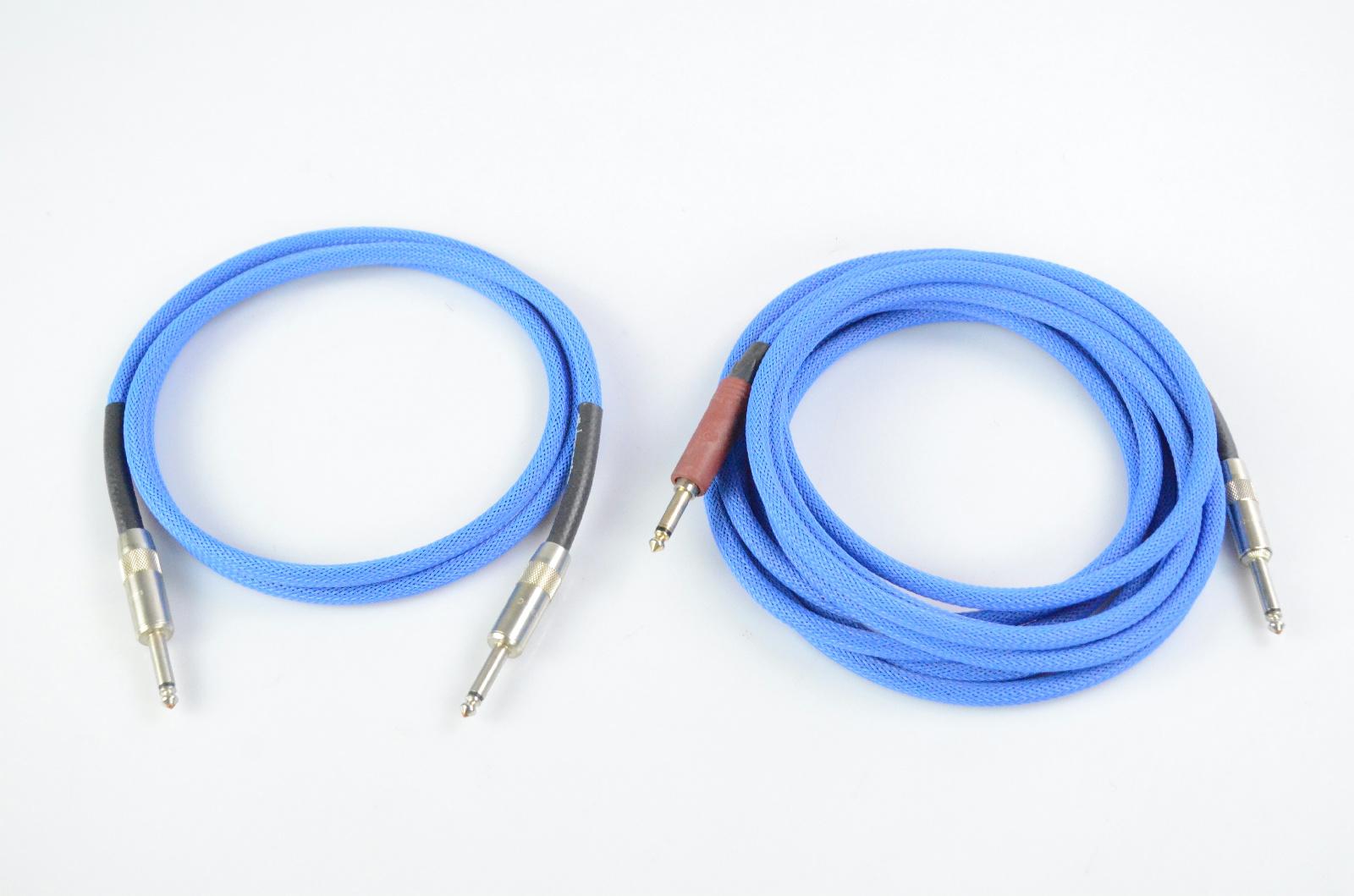 2 Divine Noise Tech Flex 5'-15' Instrument Cables Owned by Kato Khandwala #33864