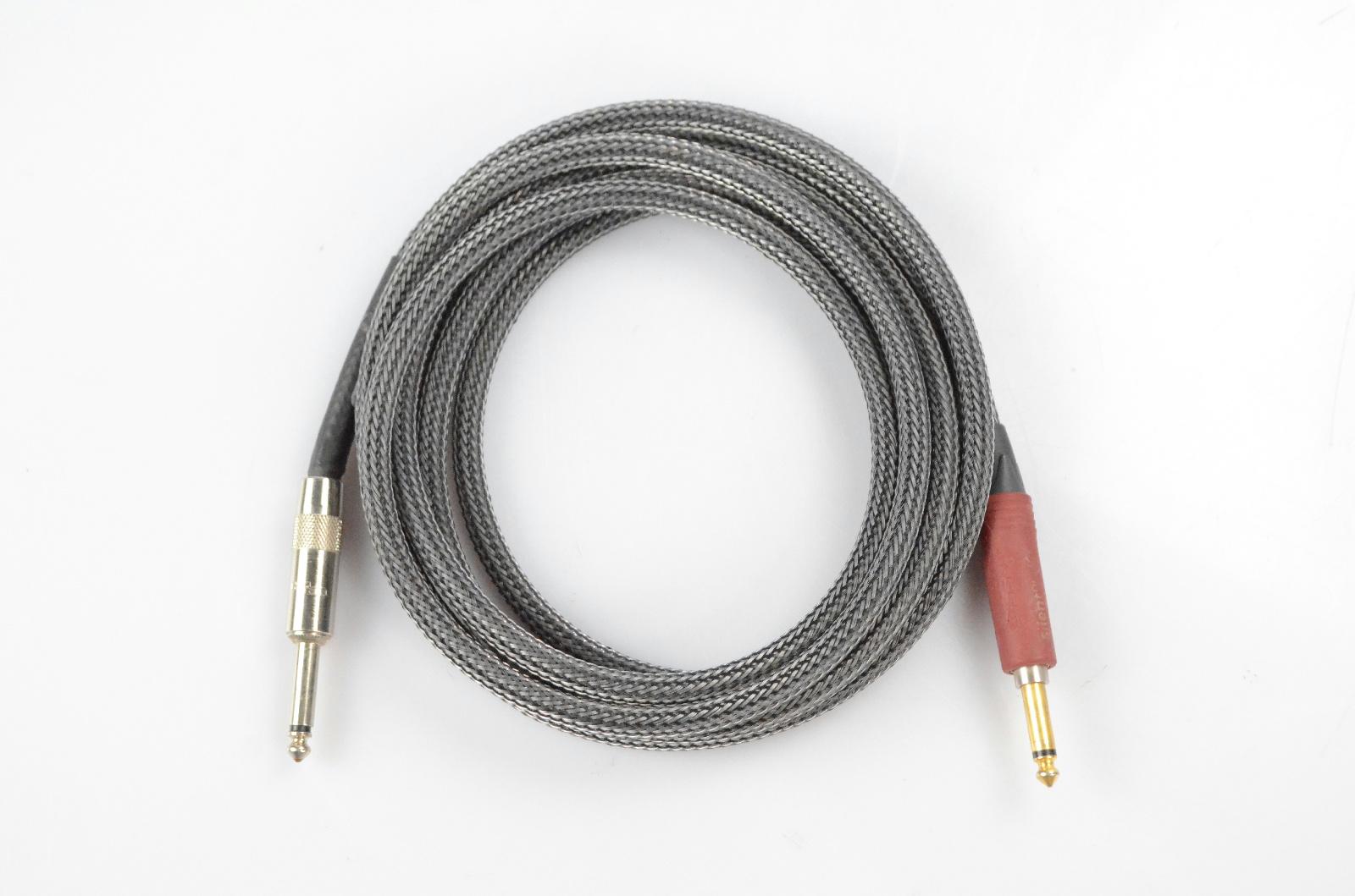 """Divine Noise 10' Tech Flex 1/4"""" Cable Silent Plug Owned by Kato Khandwala #33868"""