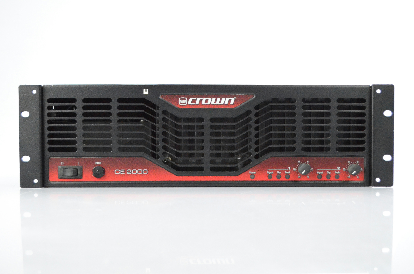 Crown CE 2000 CE2000 CE2000A Rack 2-Channel Power Amplifier Stereo Amp #33846