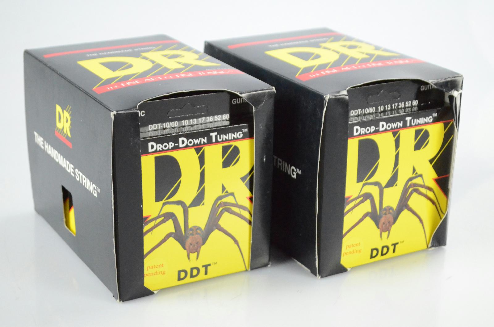 24 DR DDT-10/60 Sets 10-60 Drop-Down Tuning Guitar Strings Kato Khandwala #33873