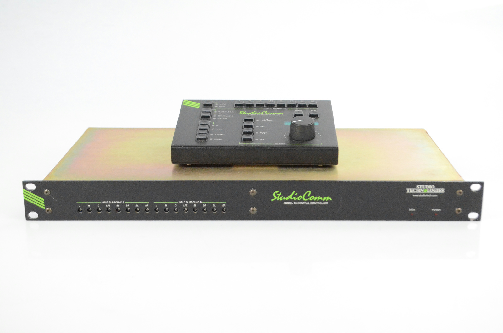 StudioComm 78 Controller & 79 Console Remote Owned by Reinhold Mack #33838