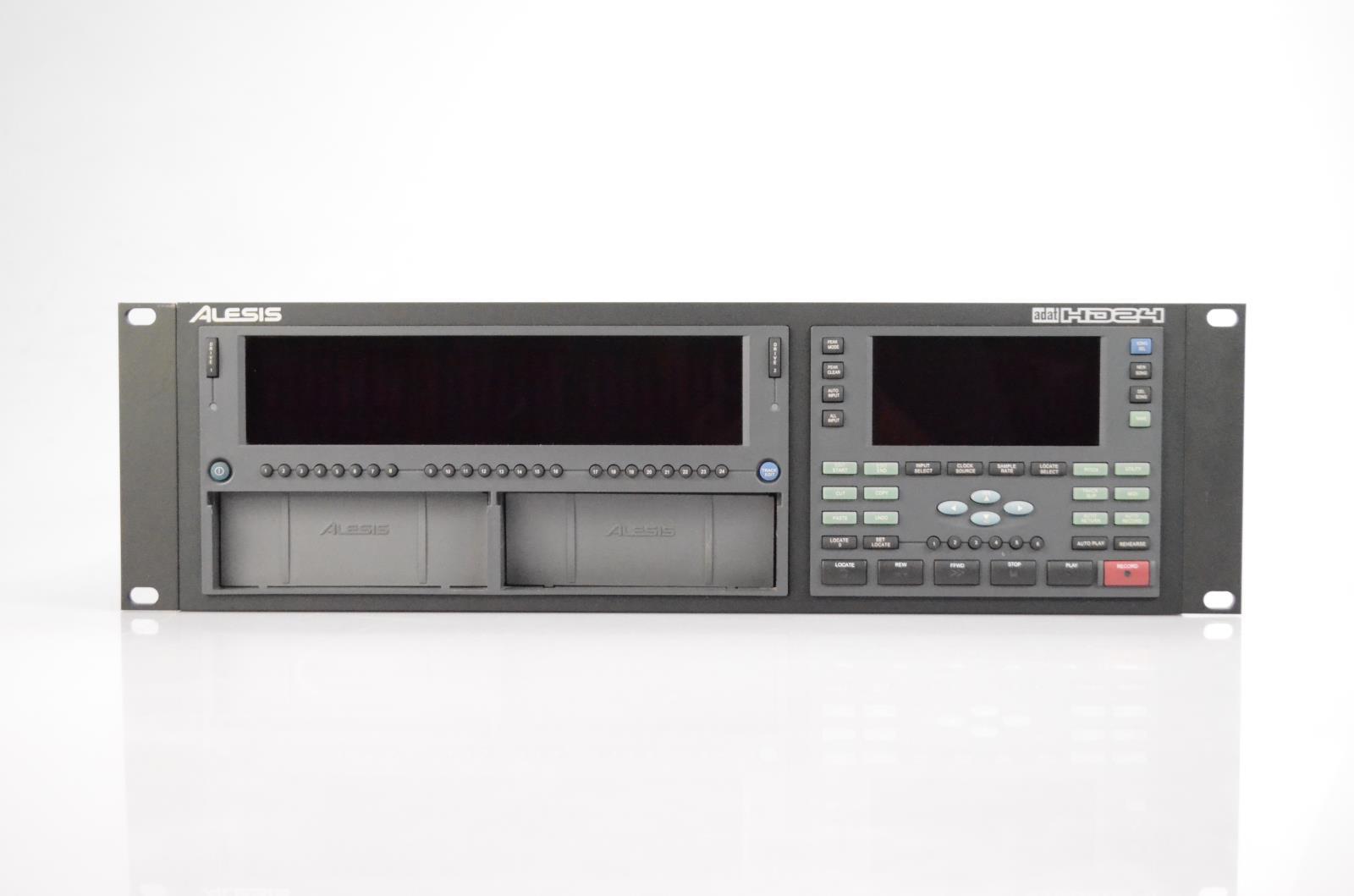Alesis HD24 ADAT 24-Channel Digital Hard Disk Recorder w/ Remote & Manual #33925