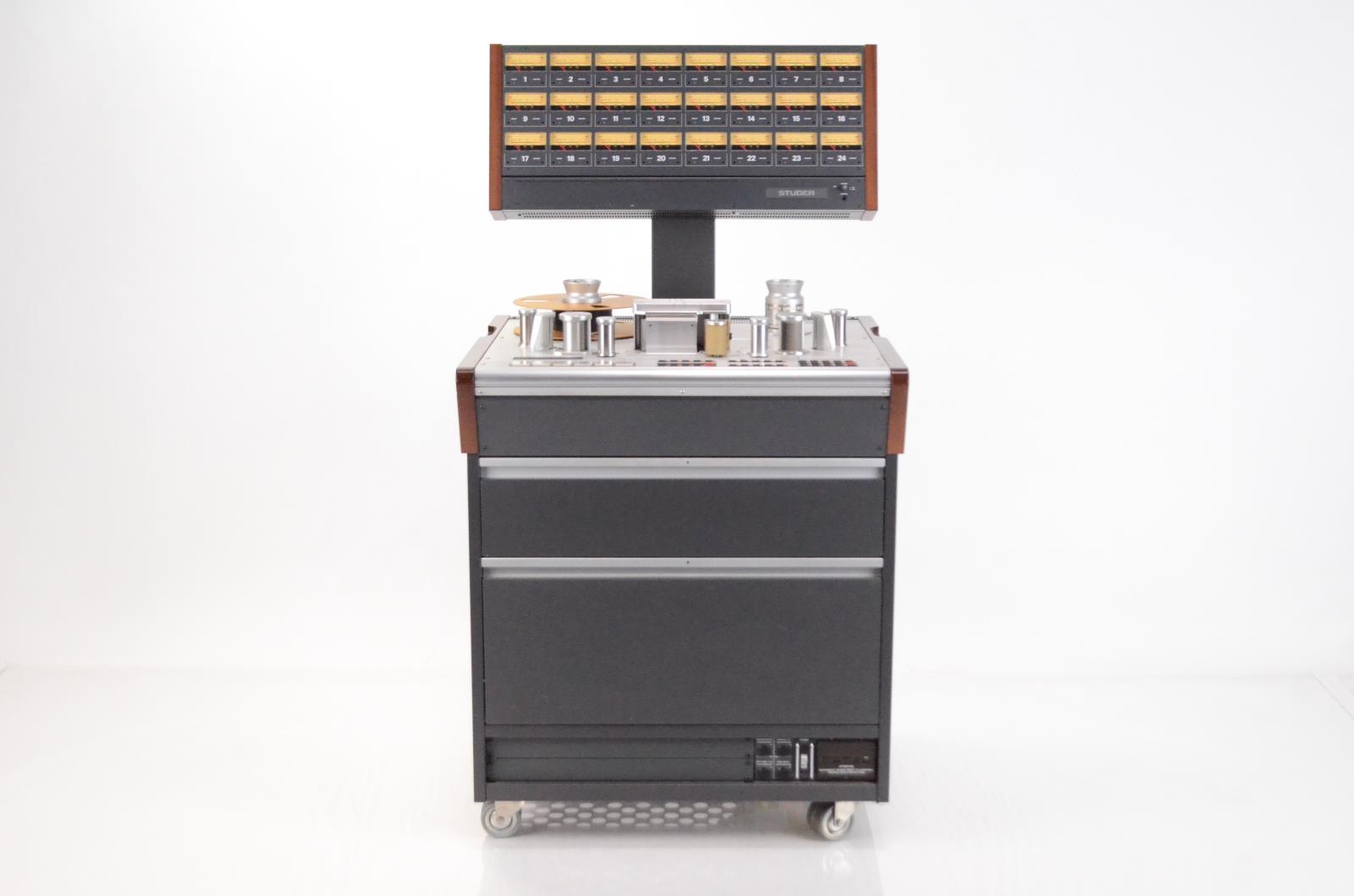 "Studer A 827 A827 2"" 24 Channel Multitrack Tape Machine NO Remote #33932"