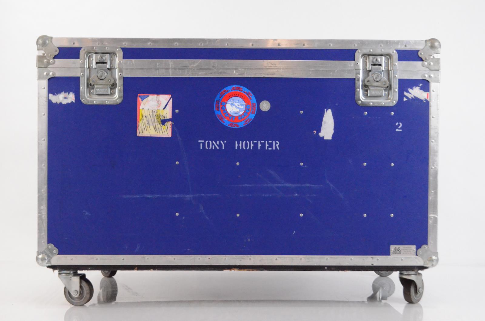 A&S Audio Video Accessory Rolling Trunk ATA Flight Road Case w/ Wheels #33910