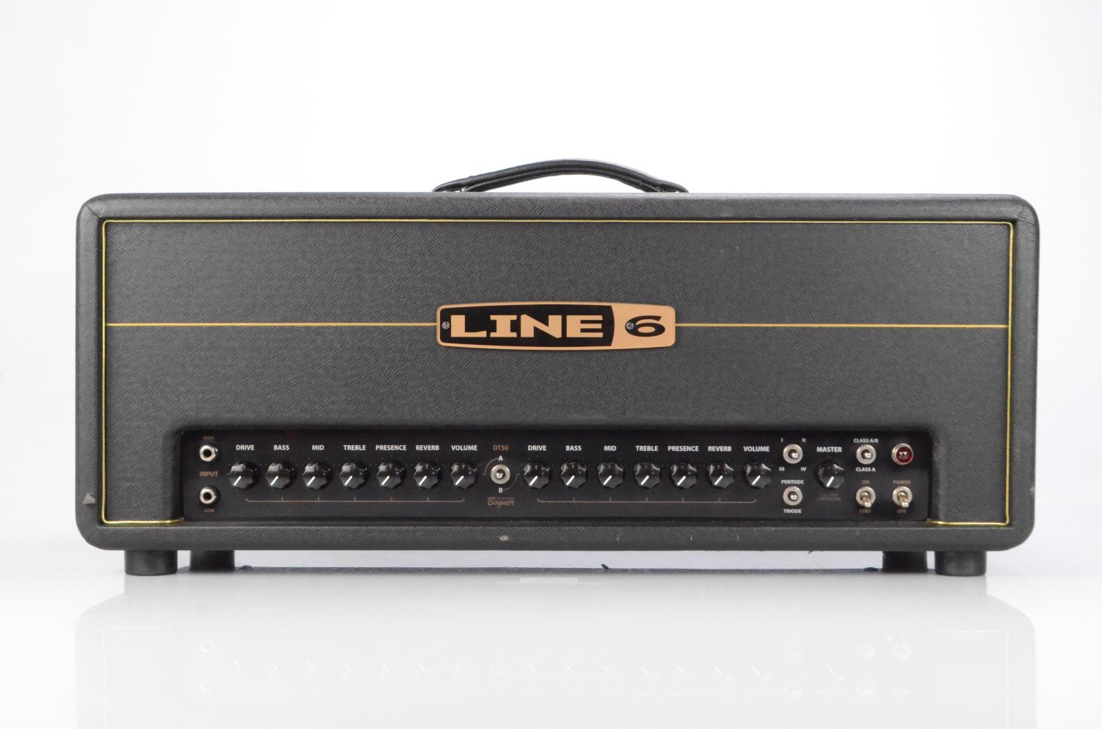 Line 6 DT50 Tube Guitar Amplifier Amp Head Bogner Owned by Carlos Rios #33940
