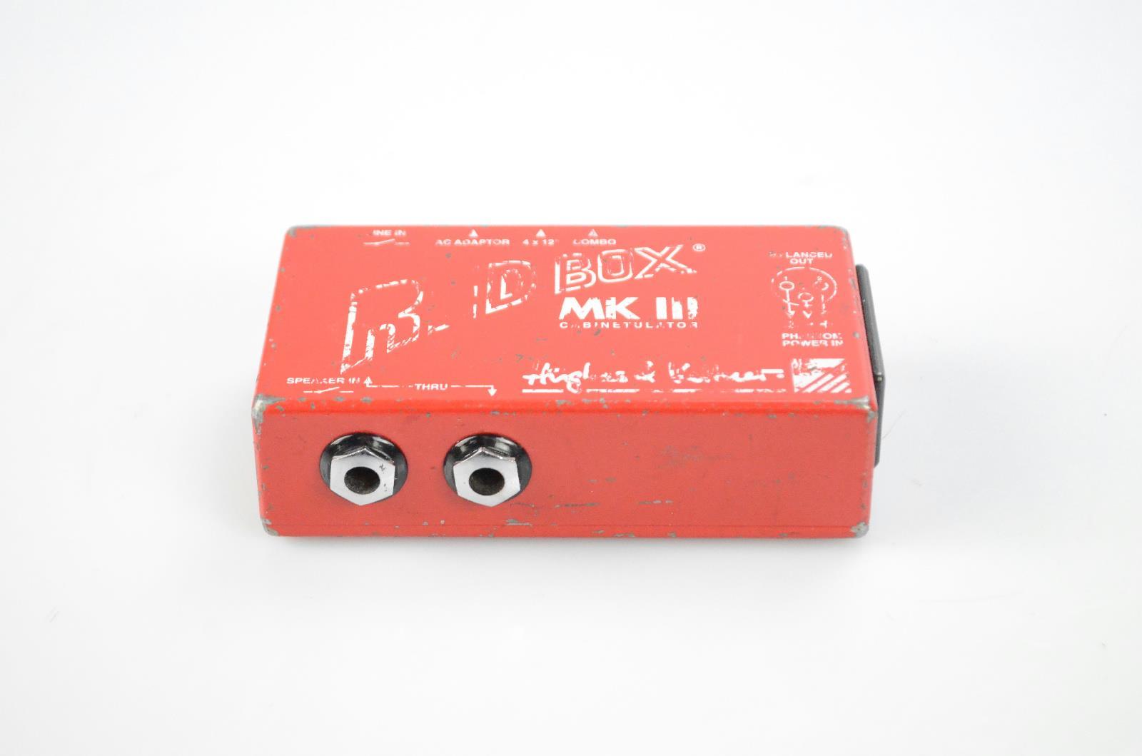 Hughes & Kettner Red Box MK III DI Direct Box Tim Skold Marilyn Manson #34022