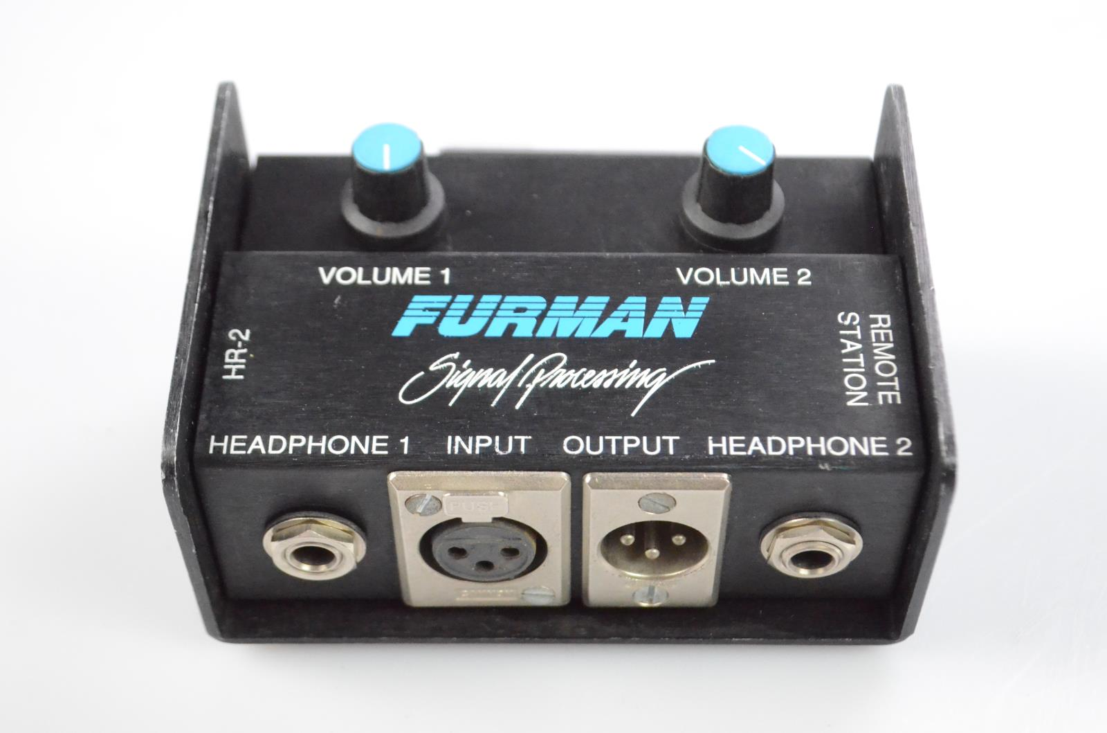 Furman HR-2 HR2 Remote Station 2 Channel Headphone Amplifier Amp w/ Clip #33893